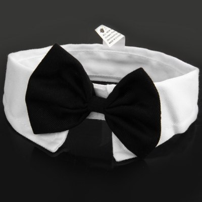 Bowknot Pattern Cat Dog Pet Bow Tie Necktie Collar Accessory