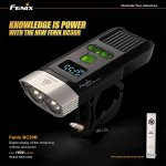 Fenix BC30R 1600 Lumens 2 Cree XM L2 T6 LEDs OLED Cycling Light with Rechargeable Battery ( Neutral White )