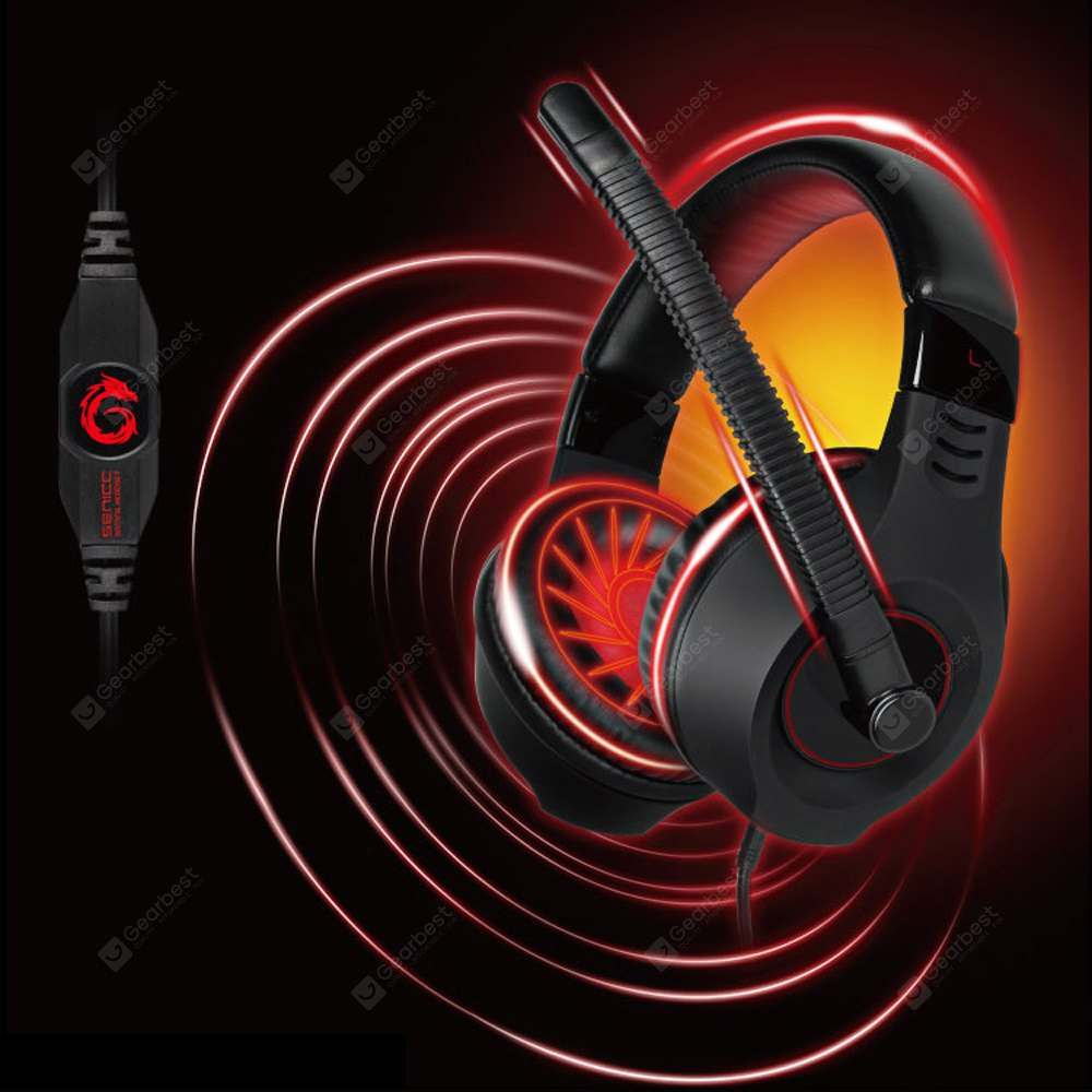 Somic G9 Plus 3.5mm Plug Noise - isolation Gaming Headset with Microphone Voice Control