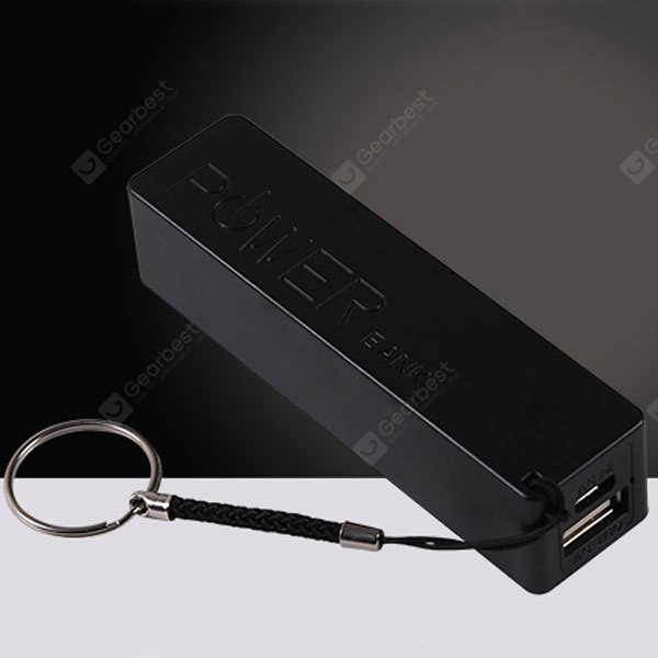 Portable DIY Mobile Power Case USB 18650 DIY Battery Charger For Phone MP3
