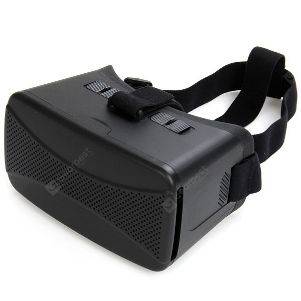 GYD Virtual Reality 3D Video Glasses with Elastic Band Fits for 4 - 5.7 inch Smartphones