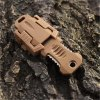best EDC Gear 2 Full Blade Webbing Buckle Design Outdoor Survival Knife with Strap