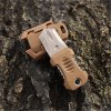 EDC Gear 2 Full Blade Webbing Buckle Design Outdoor Survival Knife with Strap photo