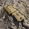 best EDC Gear One Full Blade Webbing Buckle Design Outdoor Survival Knife with Strap
