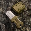 EDC Gear One Full Blade Webbing Buckle Design Outdoor Survival Knife with Strap