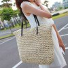 cheap Simple Style Splicing and Knitting Design Women's Shoulder Bag