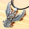 cheap Modern Eagle Pendant Necklace For Men