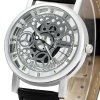 Xinslon Hollow Out Style Men Quartz Watch with Leather Band photo