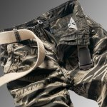 Military Style Stylish Camo Design Multi-Pocket Straight Leg Cotton Blend Cargo Pants For Men deal