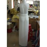 best Sexy Halter Hollow Out Spliced Maxi Dress For Women