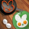 cheap Lovely Egg Shaper Silicone Ring Moulds Creativity Health Frying Cooking Eggs Interesting Kitchen Gadgets