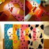 cheap Ultra - slim Folding Card Lamp Funny LED Cartoon Image Pocket Bulb / Wallet Card Light Gift