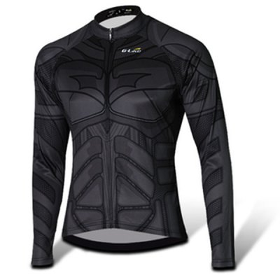 Elastic Men Breathable Long Sleeved Cycling Jersey and Pants Set with YKK Zipper Size XXS  -  4XLCycling<br>Elastic Men Breathable Long Sleeved Cycling Jersey and Pants Set with YKK Zipper Size XXS  -  4XL<br><br>Type: Long Sleeves Cycling Suit<br>Suitable Crowds: Men<br>Material: Polyester,Spandex<br>Feature: Breathable,High elasticity<br>Product weight: 0.490 kg<br>Package weight: 0.586 kg<br>Package size (L x W x H): 35.00 x 26.00 x 6.00 cm / 13.78 x 10.24 x 2.36 inches<br>Package Contents: 1 x Cycling Jersey, 1 x Pants