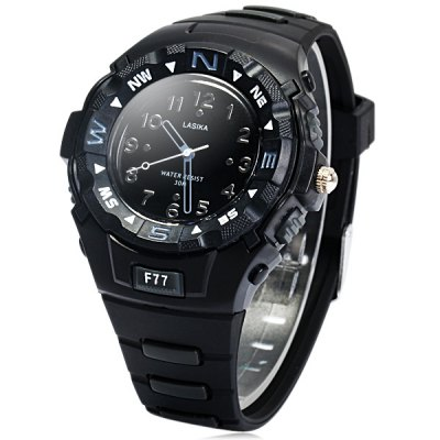 Lasika F77 Unisex Quartz Watch Sports Style Rubber Strap WristwatchUnisex Watches<br>Lasika F77 Unisex Quartz Watch Sports Style Rubber Strap Wristwatch<br><br>Brand: Lasika<br>People: Unisex table<br>Watch style: Fashion<br>Available color: Blue, Black<br>Shape of the dial: Round<br>Movement type: Quartz watch<br>Display type: Analog<br>Case material: Alloys<br>Band material: Rubber<br>Clasp type: Pin buckle<br>The dial thickness: 1.3 cm / 0.51 inches<br>The dial diameter: 4.6 cm / 1.81 inches<br>The band width: 1.8 cm / 0.71 inches<br>Product weight: 0.038 kg<br>Package weight: 0.088 kg<br>Product size (L x W x H) : 24.5 x 4.6 x 1.3 cm / 9.63 x 1.81 x 0.51 inches<br>Package size (L x W x H): 25.5 x 5.6 x 2.3 cm / 10.02 x 2.20 x 0.90 inches<br>Package contents: 1 x Lasika F77 Watch