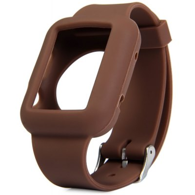 Rubber Buckle Watch Band for Apple Watch 42mm