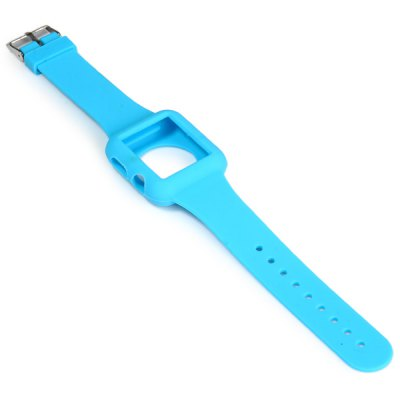 ФОТО Silicone Buckle Watch Band Strap Stainless Steel Clasp for Apple Watch 42mm