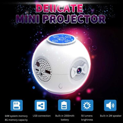 S5 Handheld LED Projector