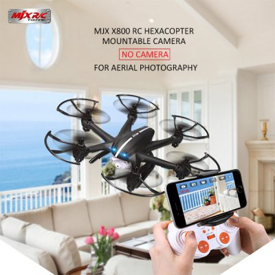 Гаджет   MJX X800 2.4G Remote Control Hexacopter 6 Axis Gyro 3D Roll Stumbling UFO RC Quadcopters