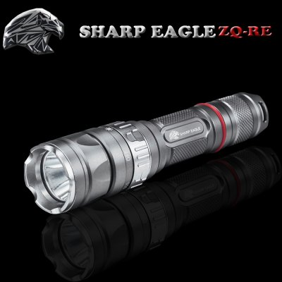 Гаджет   SHARP EAGLE ZQ - RE Cree XRE - Q5 5 Modes 1800LM Neutral White Light LED Flashlight ( 1 x 18650 Battery ) LED Flashlights