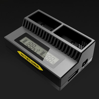Nitecore UGP3 Smart Gopro 3 / 3 + USB Charger for AHDBT - 201 / 301 / 302 Battery
