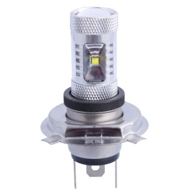 H4 30W 400LM 6000K Cree XB - D R3 6 LEDs Car Fog Light  Headlamp ( White Light DC 12-24V )LED Light Bulbs<br>H4 30W 400LM 6000K Cree XB - D R3 6 LEDs Car Fog Light  Headlamp ( White Light DC 12-24V )<br><br>Type: Car Light<br>Car light type: Headlamp, Fog Light<br>Connector: H4<br>Lumens: 400LM<br>LED: 6  x Cree XB - D R3 LED<br>Color Temp: 6000K<br>Available Light Color: Cold White<br>Wattage (W): 30<br>Voltage (V): DC 12-24V<br>Features: Easy to use, Low Power Consumption<br>Product weight: 0.025 kg<br>Package weight: 0.090 kg<br>Product size (L x W x H): 7 x 5 x 5 cm / 2.75 x 1.97 x 1.97 inches<br>Package size (L x W x H): 8 x 6 x 6 cm / 3.14 x 2.36 x 2.36 inches<br>Package Contents: 1 x 6000K Cree XB - D R3 LED Car Light