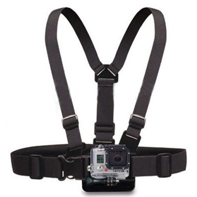 Гаджет   Light Weight Chest Band with 3-way Adjustment Base for GoPro Hero 4  / 3 / 2 / 1 / SJ4000 / SJ5000 Xiaomi Yi Camera Action Cameras & Sport DV Accessories