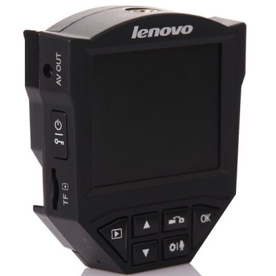 Lenovo V5 2.4 inch 1080P Full HD Dashcam Car DVR Night Vision Car Driving Video Recorder Camcorder 120 Degree Wide Angle Support G - sensor Motion DetectionCar DVR<br>Lenovo V5 2.4 inch 1080P Full HD Dashcam Car DVR Night Vision Car Driving Video Recorder Camcorder 120 Degree Wide Angle Support G - sensor Motion Detection<br><br>Model: Lenovo V5<br>Type : HD Car DVR Recorder, Full HD Dashcam<br>Chipset Name: Novatek<br>Chipset : Novatek 96650<br>Special Function: HDMI, G-sensor, Microphone, Motion detection, AV-OUT, Emergency lock by manual, Cycle recording<br>Max External Card Supported: TF 32G (not included)<br>Class Rating Requirements: Class 4 or Above<br>Screen Size: 2.4inch<br>Screen Type: LCD<br>Battery type: Built-in<br>Capacity : 100mAh Li-polymer battery<br>Charge Way : Car charger<br>Wide Angle: 120 degree wide angle<br>Image Sensor: 3.0MP CMOS<br>Decode Format: H.264, AVC<br>Video Resolution : 1080P (1920 x 1080), 720P (1280 x 720)<br>Video Frame Rate: 30fps<br>Video Output: HDMI, AV-OUT<br>Image Format  : JPEG<br>Image Resolution  : 12M (4032 x 3024)<br>Audio System: Built-in microphone/speacker (AAC)<br>Loop-cycle Recording : Yes<br>Motion Detection: Yes<br>Night Vision: Yes<br>G-Sensor: Yes<br>HDMI Output: Yes<br>Interface Type: TF card slot, AV-Out, HDMI<br>Language: English<br>Product Weight: 0.400 kg<br>Package Weight: 0.600 kg<br>Product Size (L x W x H): 7.4 x 6.8 x 3.2 cm / 2.91 x 2.67 x 1.26 inches<br>Package Size (L x W x H): 20.5 x 15.5 x 7.0 cm / 8.06 x 6.09 x 2.75 inches<br>Package Contents: 1 x Car DVR, 1 x Car Charger, 1 x Bracket, 1 x USB Cable