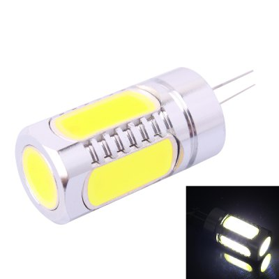G4 - 6D 7.5W 350LM 6000K Cold White LED Light Bulb ( DC 12V )