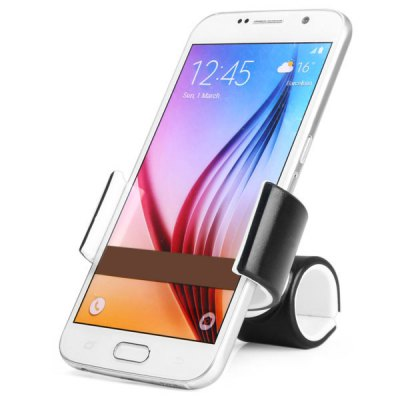 Durable Ring Clamp Design Phone Stand Car Holder