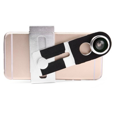 Гаджет   Flexible Universal Smartphone Lens Clip Holder with Adjustable Joints iPhone Lenses