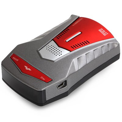Гаджет   V6 English and Russian Voice Prompt 360 Degree 16 Band Scanning Laser Radar Safety Detector for Car Driving