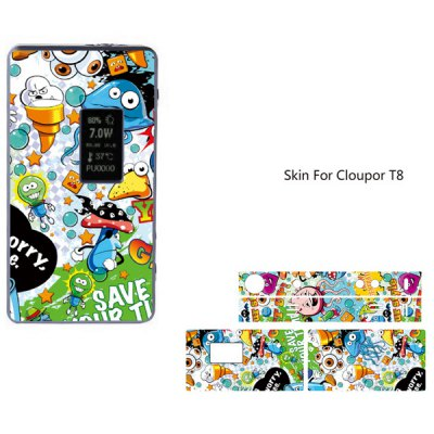 Cool Pattern Skin for Cloupor T8