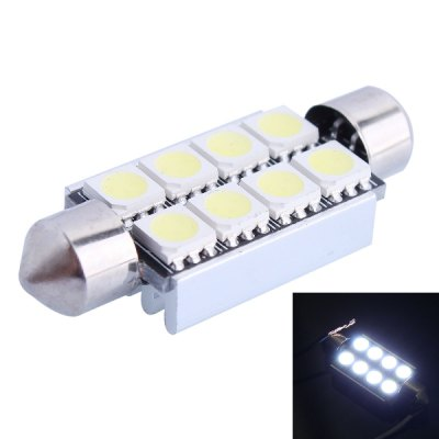 Double Pointed 41mm 2W 6000K SMD - 5050 LED Car Bulb