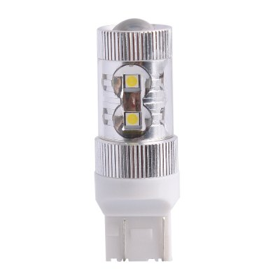 T20 60W 650LM 6000K SMD 12 LEDs Cold White LED Car Turn Signal Light Brake Light ( DC 12 - 24V )