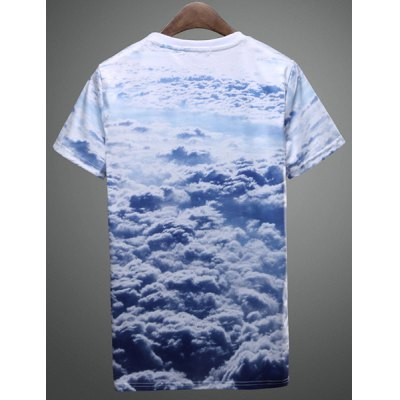 Summer Hot Sale Funny Animal Cat 3D Print Fashion Round Neck Fitted Short Sleeves Mens T-ShirtMens Short Sleeve Tees<br>Summer Hot Sale Funny Animal Cat 3D Print Fashion Round Neck Fitted Short Sleeves Mens T-Shirt<br><br>Material: Cotton, Polyester<br>Sleeve Length: Short<br>Collar: Round Neck<br>Style: Fashion<br>Weight: 0.240KG<br>Package Contents: 1 x T-Shirt<br>Embellishment: 3D Print<br>Pattern Type: Animal