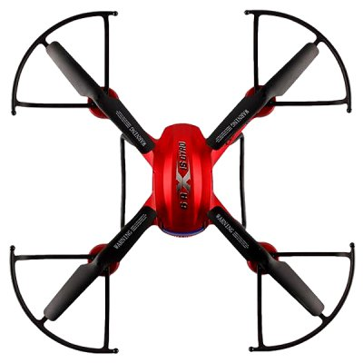 Фотография F181 Dual Mode 2.4GHz RC Quadcopter 6 Axis Gyro 360 Degree Rolling with Detachable 2.0MP HD Camera