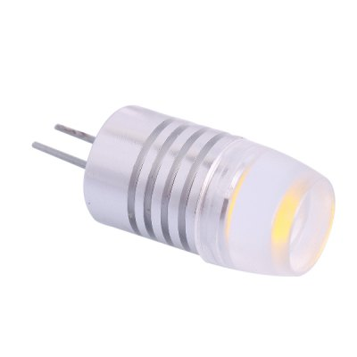 G4 2D 1.5W 85lM 6000K LED Cold White Crystal LED Light Bulb ( DC 12V )LED Light Bulbs<br>G4 2D 1.5W 85lM 6000K LED Cold White Crystal LED Light Bulb ( DC 12V )<br><br>Base Type: G4<br>Output Power: 1.5W<br>Emitter Type: LED<br>Total Emitters: 1<br>Actual Lumen(s): 85LM<br>Wavelength/Color Temperature: 6000K<br>Voltage (V): DC 12<br>Angle: 120<br>Function: Studio and Exhibition Lighting, Home Lighting<br>Available Light Color: Cold White<br>Sheathing Material: Aluminum<br>Product Weight: 0.004 kg<br>Package Weight: 0.068 kg<br>Product Size (L x W x H): 3 x 1.2 x 1.2 cm / 1.18 x 0.47 x 0.47 inches<br>Package Size (L x W x H): 5 x 3 x 3 cm / 1.97 x 1.18 x 1.18 inches<br>Package Contents: 1 x 6000K LED Light