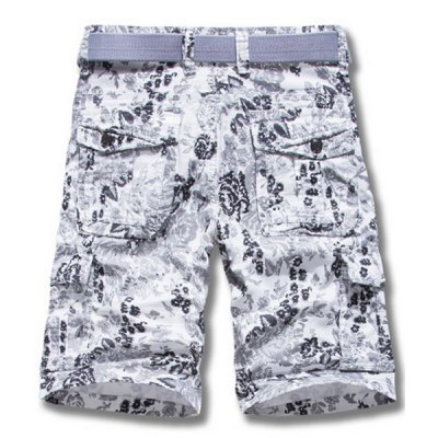 Military Uniform Style Trendy Ethnic Flower Print Multi-Pocket Straight Leg Loose Fit Cotton Blend Summer Shorts For MenMens Shorts<br>Military Uniform Style Trendy Ethnic Flower Print Multi-Pocket Straight Leg Loose Fit Cotton Blend Summer Shorts For Men<br><br>Style: Fashion<br>Length: Bermuda<br>Material: Polyester, Cotton<br>Fit Type: Loose<br>Waist Type: Mid<br>Closure Type: Zipper Fly<br>Front Style: Flat<br>Weight: 0.55KG<br>Package Contents: 1 x Shorts