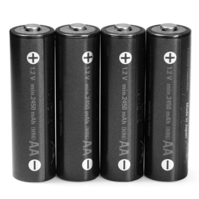 Гаджет   4 x  Eneloop 1.2V 2450mAh Rechargeable Ni-MH AA Battery for Electric Cigarette Batteries