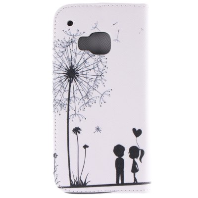 Falling Dandelion PU Cover Case with Card Holder for HTC One M9Cases &amp; Leather<br>Falling Dandelion PU Cover Case with Card Holder for HTC One M9<br><br>Other compatible models: HTC One M9<br>Features: Full Body Cases, Cases with Stand, With Credit Card Holder<br>Material: PU Leather, TPU<br>Style: Pattern<br>Color: White<br>Product weight: 0.065 kg<br>Package weight: 0.145 kg<br>Product size (L x W x H) : 15.1 x 7.9 x 1.6 cm / 5.93 x 3.10 x 0.63 inches<br>Package size (L x W x H): 16.1 x 8.9 x 2.6 cm / 6.33 x 3.50 x 1.02 inches<br>Package Contents: 1 x Case for HTC One M9