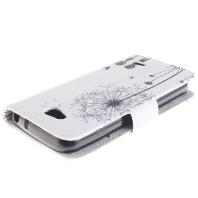 Гаджет   Romantic Dandelion PU Full Body Case with Stand Card Holder for LG L90 D405 Other Cases/Covers
