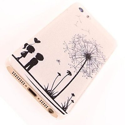 ФОТО Kinston PC Material Protective Back Case Cover Dandelion Pattern for iPhone 5 / 5S