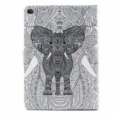 ФОТО PU Material Protective Cover Case with Elephant Pattern for iPad Air 2