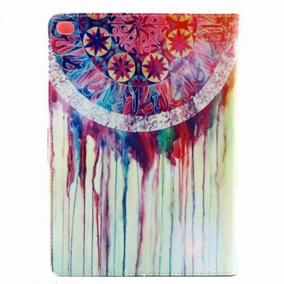 ФОТО PU Material Protective Cover Case with Colorful Pattern for iPad Air 2