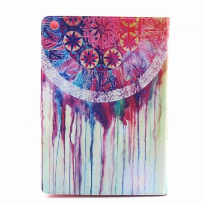 ФОТО PU Material Protective Cover Case with Colorful Pattern for iPad Air