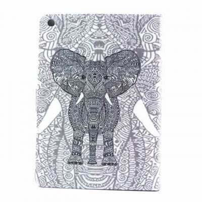 Гаджет   PU Material Protective Cover Case with Elephant Pattern for iPad Air iPad Cases/Covers
