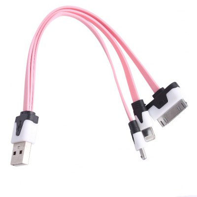 3 - in - 1 USB Charging Cable 20cm