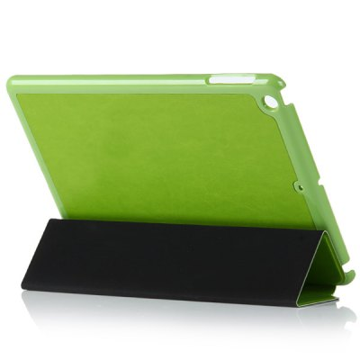 Фотография Foldable Stand Design PU and PC Material Cover Case for iPad Air