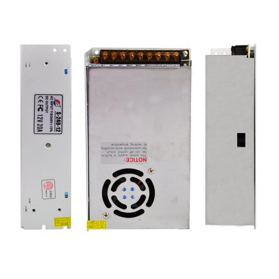 ФОТО S-240-12 240W 12V / 20A Switch Power Supply Driver for LED Light and Surveillance Security Camera