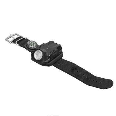EyeFire Y-2211 Outdoor Rechargeable Wrist Flashlight 5 Modes 100 - 240 Lumens